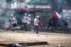 cruz roja chile