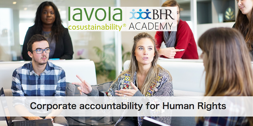 BHR Breakfast meeting: Corporate accountability for Human Rights