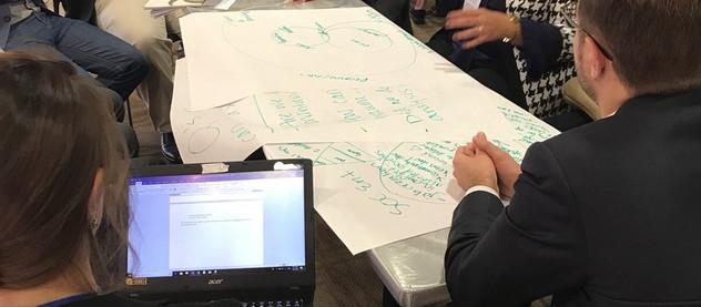La embajadora de la PeaceStartup Foundation en EE.UU. participó en el Simposio Venture Peacebuilding