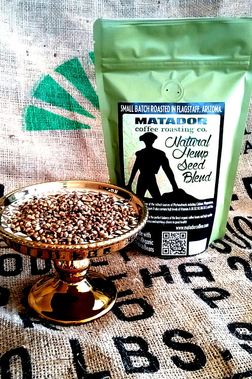 Hemp Seed Coffee 8 oz. Bag