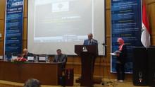 كلمة أ.د/ رئيس الجامعة خلال افتتاح المؤتمر الدولي الخامس للنسيج