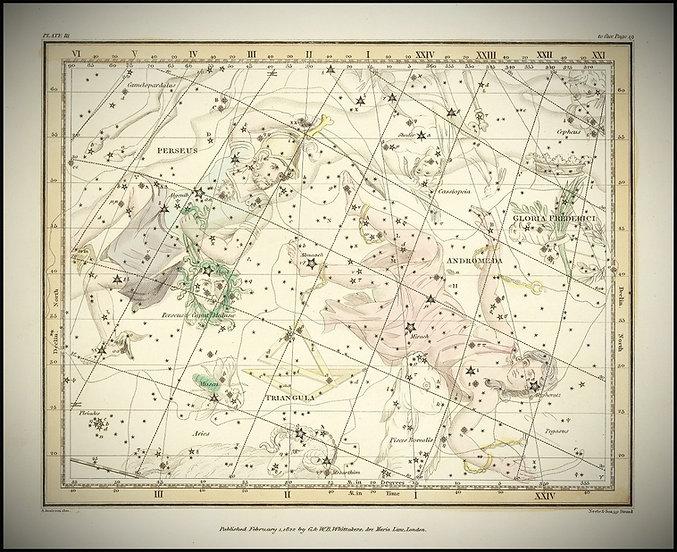 Alexander 20Jamieson, Andromeda, Andromède, constellation, Ciel de Nuit, Jean-Brice GAYET
