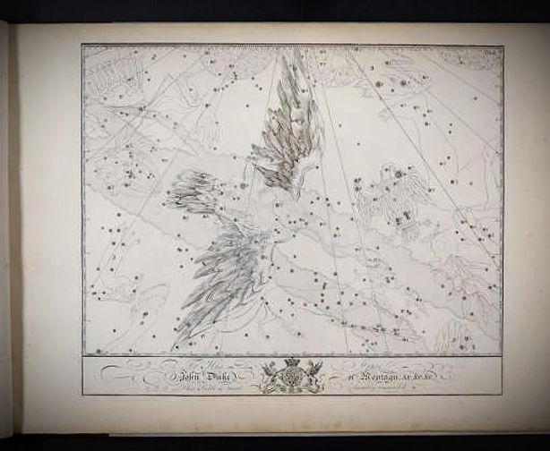 John Bevis,vers1750,UranographiaBritannica.