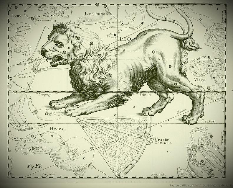 Lion Leo Constellation Hevelius Jean-Brice GAYET Ciel de nuit