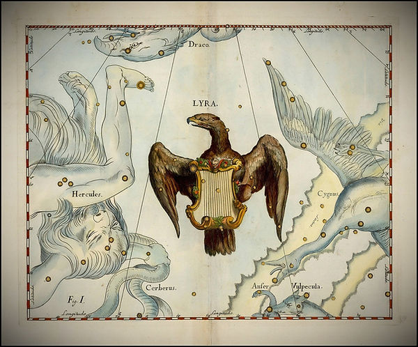 Lyra Lyre Constellation Hevelius Jean-Brice GAYET Ciel de nuit