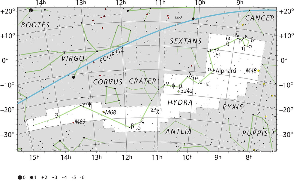 Hydra constellation UAI IAU Jean-Brice GAYET
