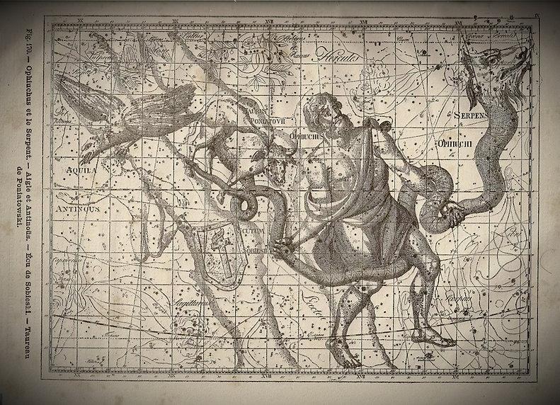 Ophiucus Flammarion Bode Jean-Brice GAYET Ciel de Nuit