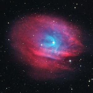 Référencée PN A66 35 dans le catalogue Simbad, Abell 35 a été considéré plusieurs décennies après sa découverte comme une nébuleuse planétaire et le reste toujours en 2021 selon SIMBAD