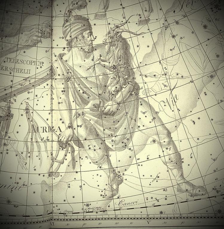 Auriga Bode 1801, Constellation, Jean-Brice GAYET, Ciel de Nuit