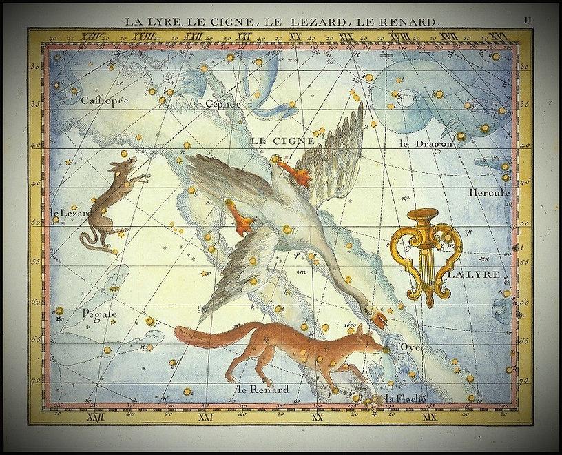 Lyre Lyra Constellation Fortin Jean-Brice GAYET Ciel de nuit