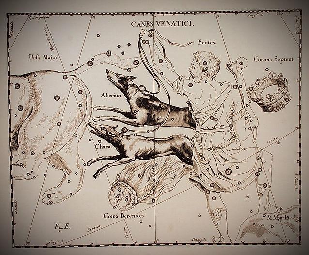 L'Uranographia de Johannes Hevelius,1690