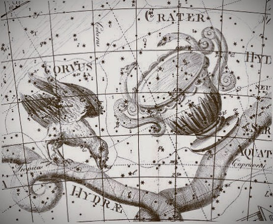 Hydra Corvus Crater constellations Bode Jean-Brice GAYET