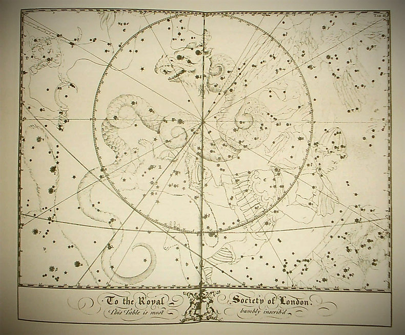 Draco, John Bevis 1750