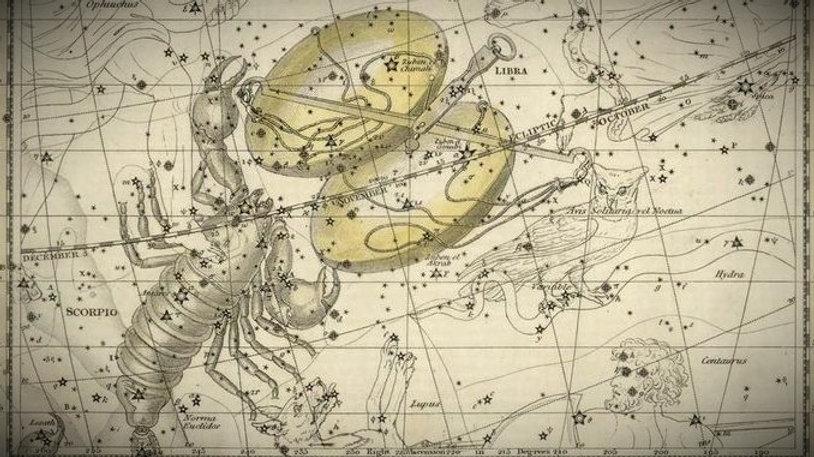 Libra, constellation, La Balance, Ciel de Nuit