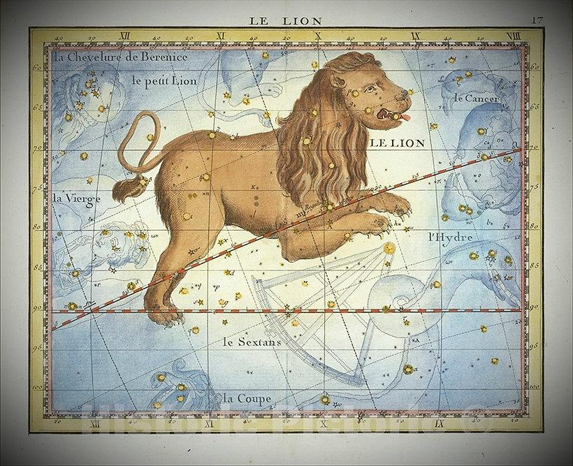 Lion Leo Constellation Fortin Jean-Brice GAYET Ciel de nuit