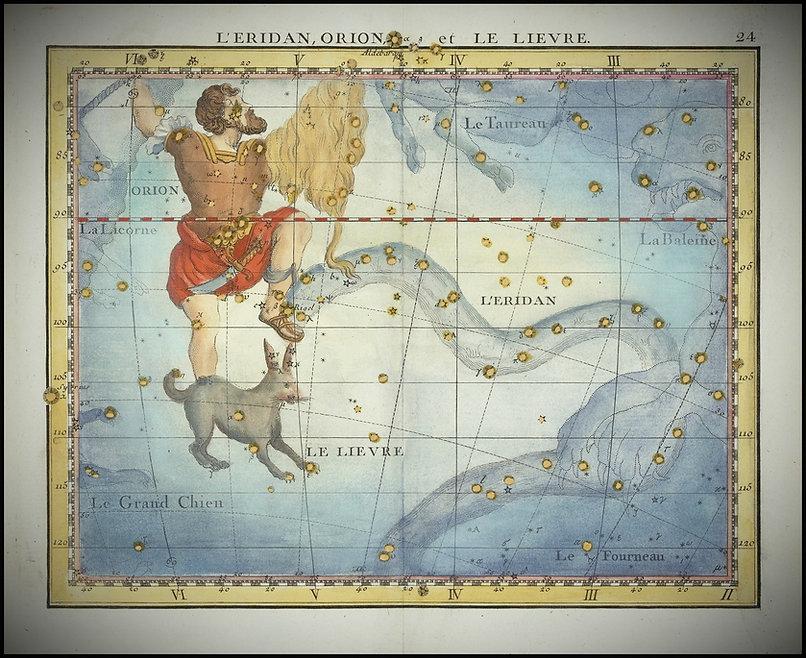 1776 - John_Flamsteed - L'Eridan, Orion et Le Lievre (Eridanus, Orion et Lepus).jpg