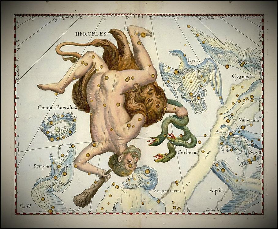 Hercules Hevelius Jean-Brice GAYET