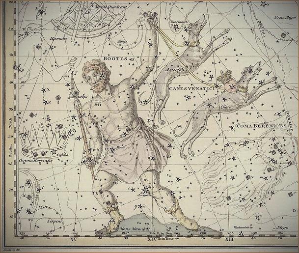 Bouvier, Bootes, Constellation, Ciel de Nuit
