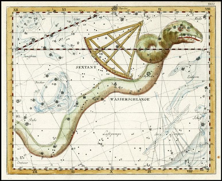 Hydre Hydra constellation Bode Jean-Brice GAYET