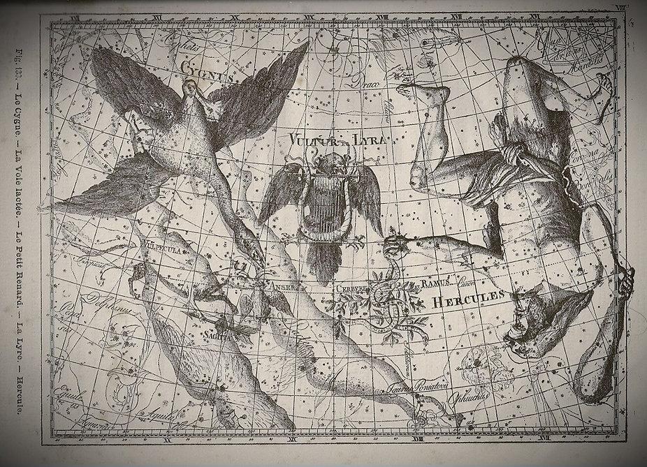 Hercules constellation Bode Jean-Brice GAYET