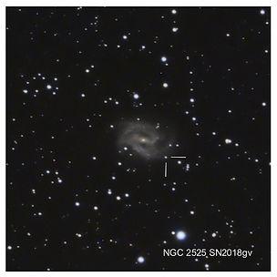 Test de matériel pour la détection des supernovas en poses courtes