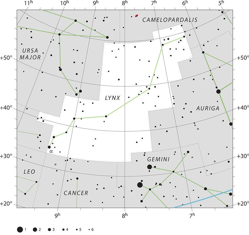 Lynx constellation UAI Jean-Brice GAYET Ciel de nuit
