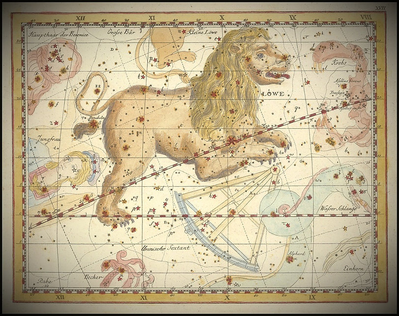 Johann Elert Bode Leo Constellation Lion Jean-Brice GAYET Ciel de nuit
