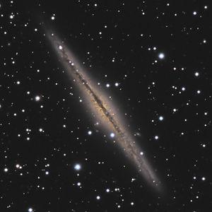 NGC 891 et NGC 7814, spirales et courbes de rotation