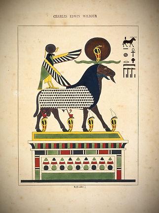 Amon-Ra (l'esprit des quatre éléments, lame du monde matérial), N372.2.,Brooklyn Museum
