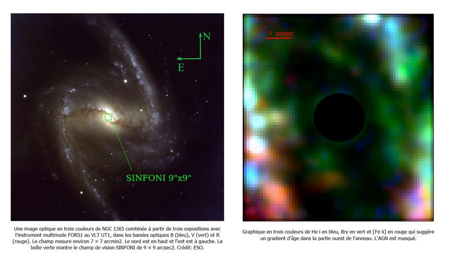 AGN de NGC 1365