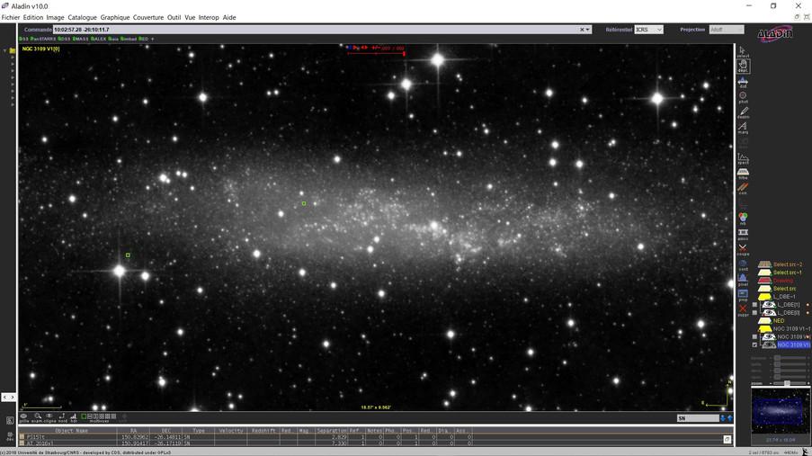 Supernovas de NGC 3109