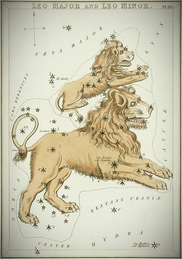 Lion Leo constellation Urania's Mirror Jean-Brice GAYET Ciel de nuit