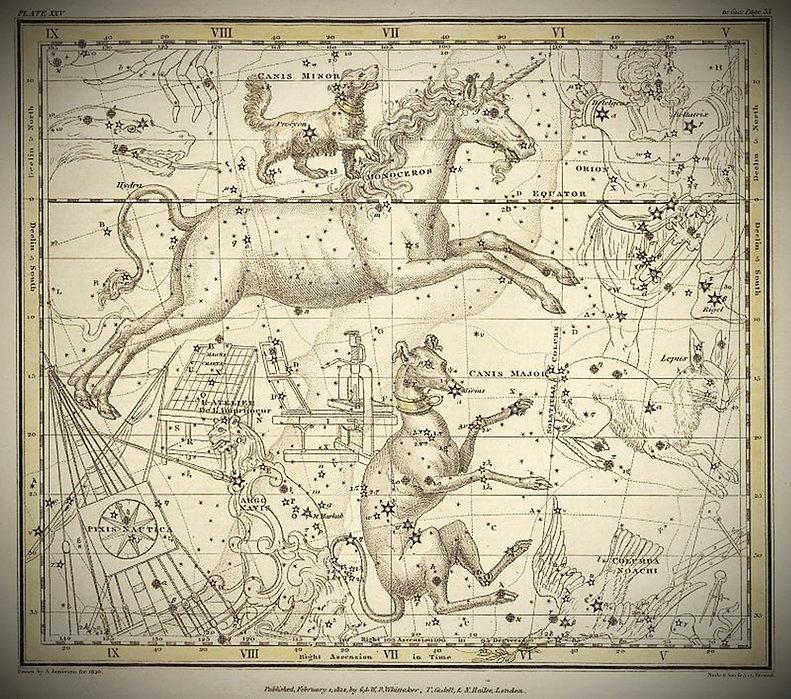 Canis Major, Canis Minor, Monoceros, Arg