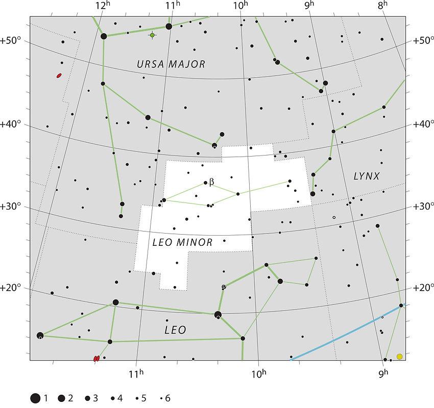 Petit Lion UAI, constellation, Ciel de Nuit, Jean-Brice GAYET