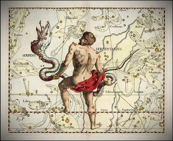 Serpens Ophiucus Johannes Hevelius Jean-Brice GAYET Ciel de nuit