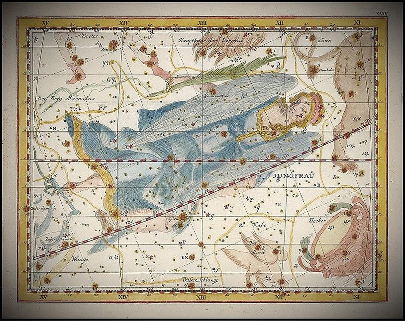 Virgo, La Vierge, Constellation, Bode, Ciel de nuit, Jean-Brice GAYET
