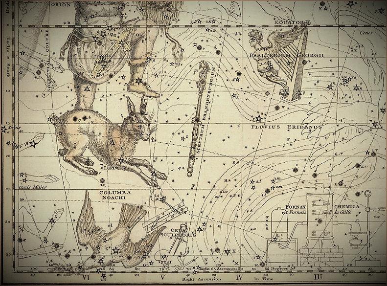 Eridanus constellation Jamieson Ciel de Nuit Gayet