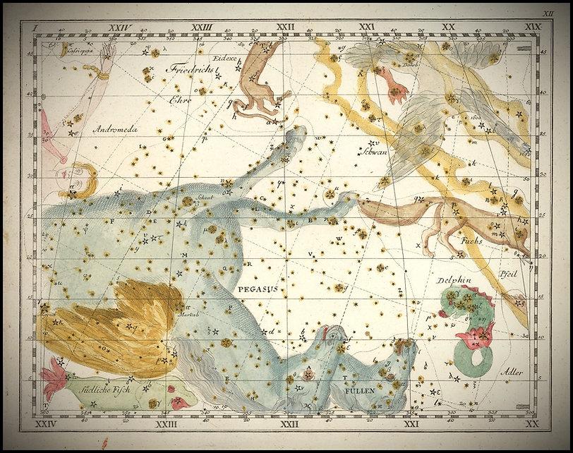 Pégase, pegasus, constellation, Bode, Ciel de Nuit, Jean-Brice GAYET
