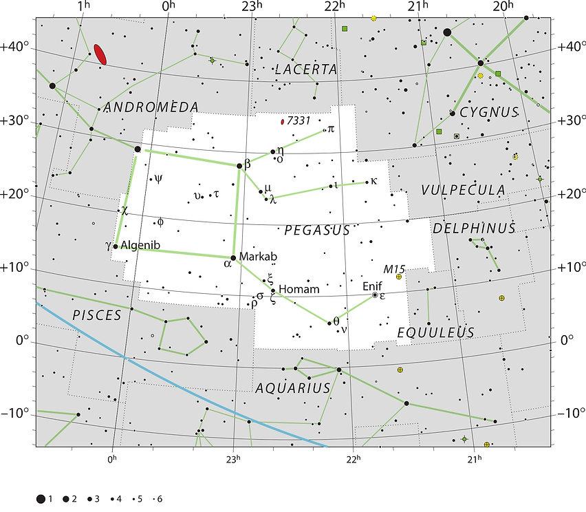 Pégase, Pegasus, constellation, Ciel de Nuit, Jean-Brice GAYET
