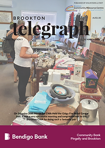 Brookton Telegraph Edition 5Font Cover T