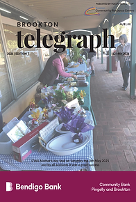 Brookton Telegraph Edition 8 Front Cover