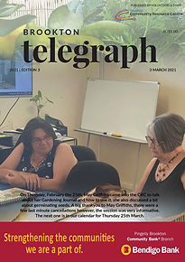 Brookton Telegraph Edition 3_FrontCover.