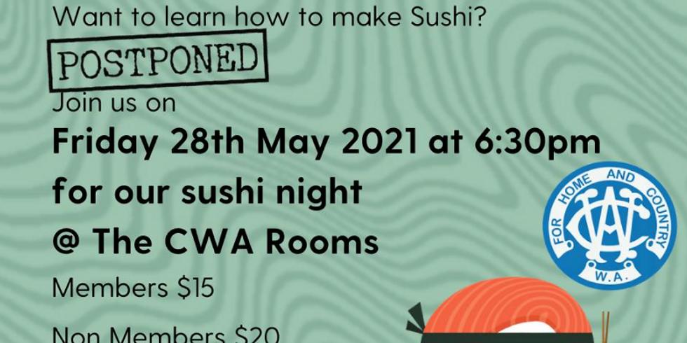 Brookton CWA Sushi Night