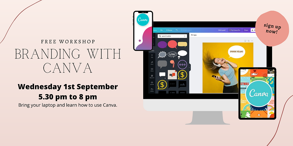 Branding with Canva - with RSM