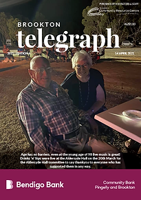 Brookton Telegraph Edition 6 Final Copy.