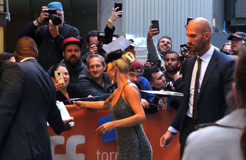 Lady Gaga at TIFF 2018