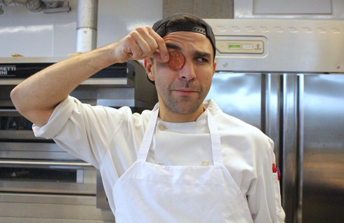Michael Bou-Younes, corporate chef and trainer at the Faema Pizza Academy