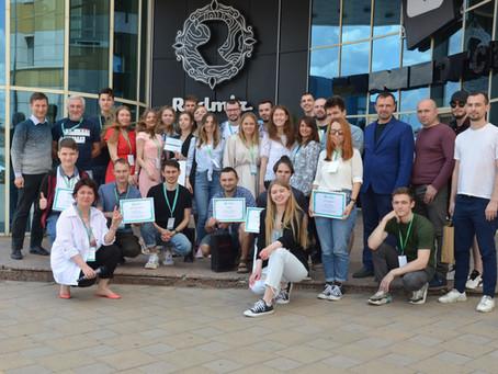 Студенти створили застосунок VeloCity, який допоможе безпечно користуватися велосипедом у Харкові