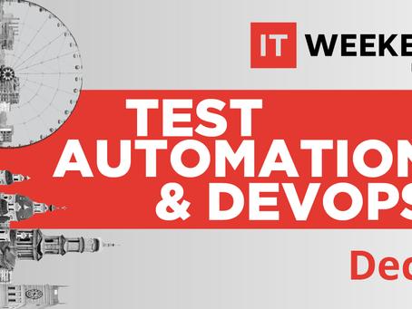 IT Weekend Kharkiv: Test Automation & DevOps