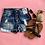 Thumbnail: Denim destroyed long pocket shorts